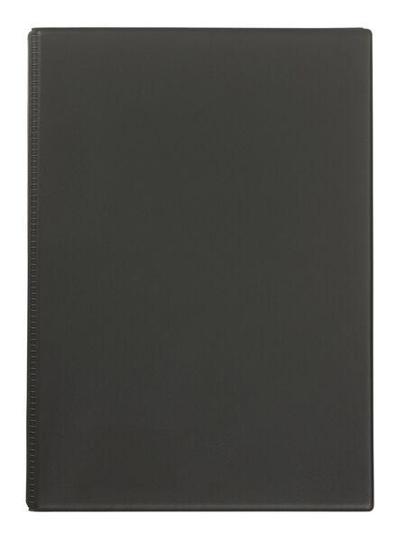 Einsteckalbum, 25.1 x 20.1 cm, dunkelgrau - 14633323 - HEMA