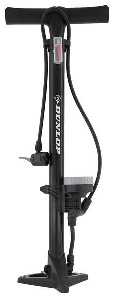 Image of Dunlop Standing Bicycle Pump With Pressure Gauge 11 Bar Dunlop