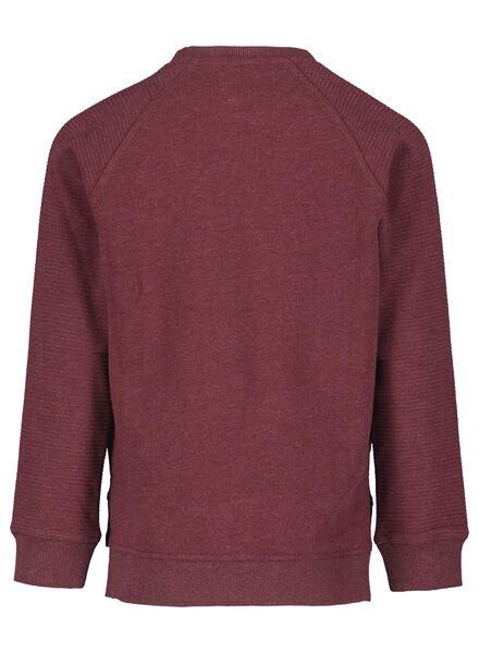children's sweater wine red wine red - 1000017261 - hema