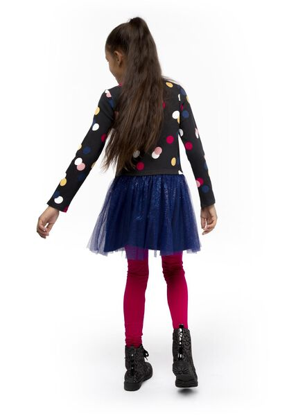 2-pack children's leggings dark pink dark pink - 1000017097 - hema