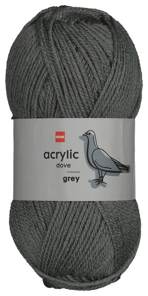 fil acrylique 100g gris - 1400192 - HEMA