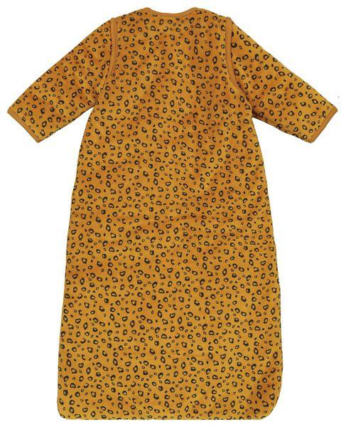 baby sleeping bag - padded - zip-off sleeves - animals brown brown - 1000019995 - hema