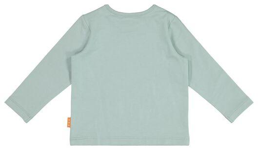 newborn T-shirt blue blue - 1000017652 - hema