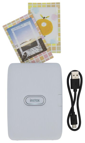 Fujifilm Instax Mini Link - imprimante smartphone - blanc - 61130020 - HEMA
