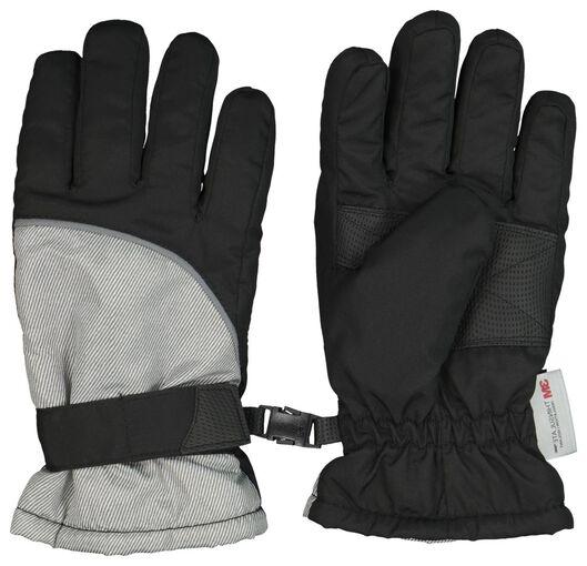 Kinder-Handschuhe schwarz 110/116 - 16730381 - HEMA