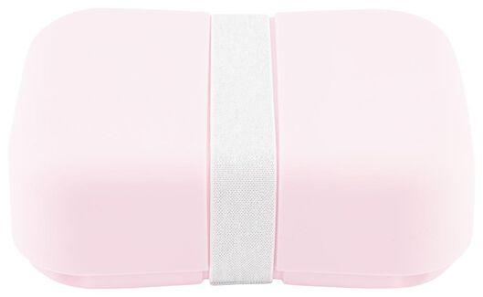 boîte à déjeuner avec élastique rose - 80610303 - HEMA