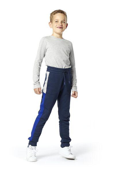 Kinder-Sweathose blau blau - 1000020087 - HEMA