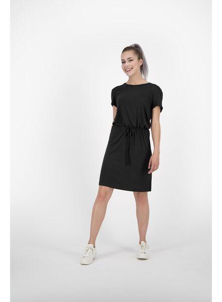 women's dress black black - 1000013840 - hema