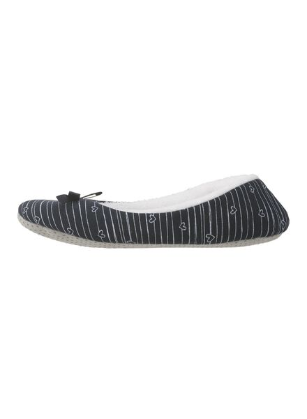 Hausschuhe - HEMA Damen Pantoffeln Blau  - Onlineshop HEMA