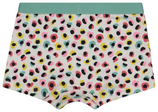 3 boxers enfant léopard/rayure/fleur aqua aqua - 1000022784 - HEMA