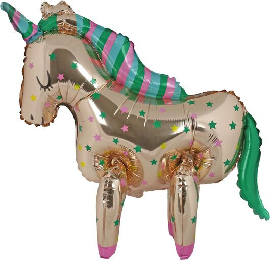 ballon alu 55cm - licorne - 14230289 - HEMA