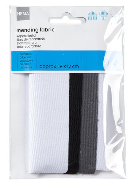 3 pieces of repair fabric - 1491023 - hema