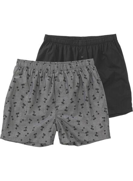 Image of HEMA 2-pack Men's Boxer Shorts Grey (grey)