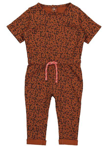 Baby-Jumpsuit braun braun - 1000017515 - HEMA