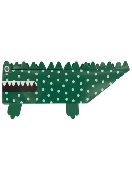 cadeaudoos krokodil 30 x 8 x 8 - 14700267 - HEMA