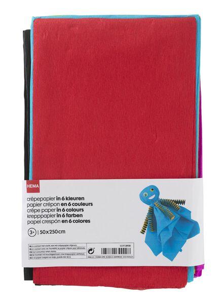 crèpe paper pack - 15978908 - hema