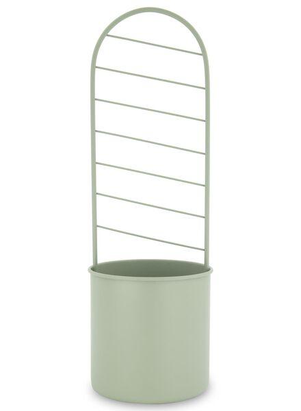 pot de fleurs Ø 13 avec tuteur de 43cm - vert - 13392078 - HEMA