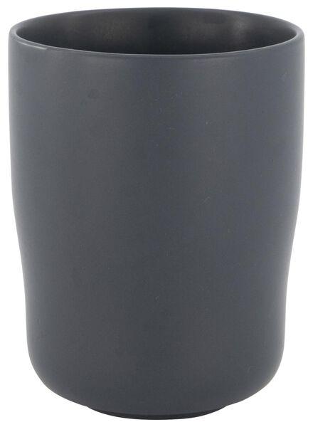 mug 8 cm - Bergen - grey matt - 9602075 - hema