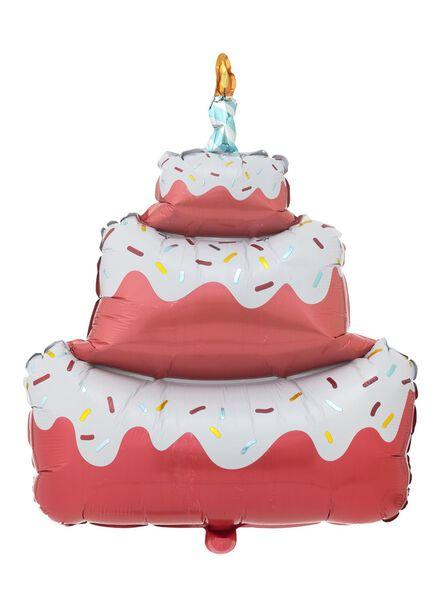 ballon alu gâteau 65 cm - 60800670 - HEMA