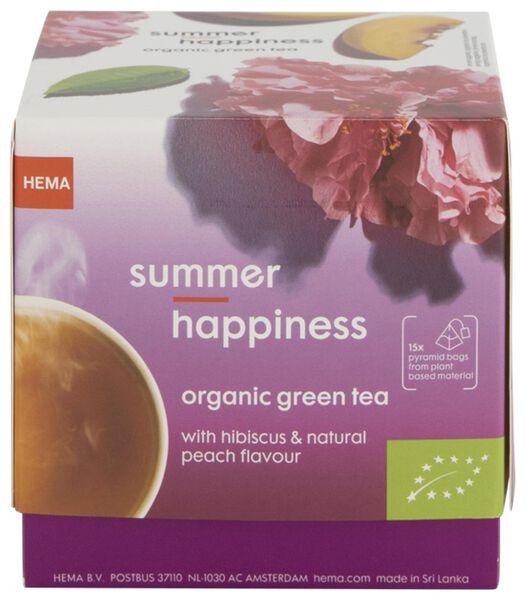 groene thee biologisch summer happines - 15 stuks - 17190024 - HEMA