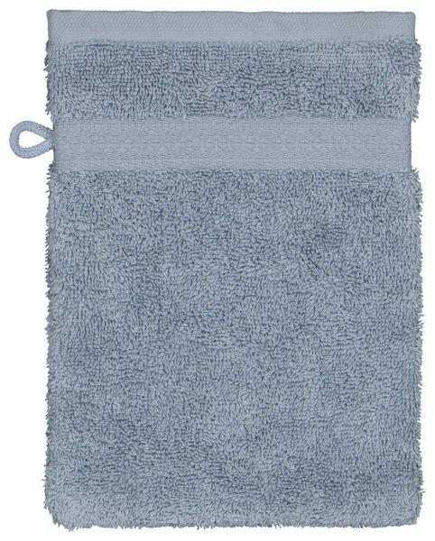 gant de toilette qualité épaisse bleu glacier bleu gant de toilette - 5230037 - HEMA
