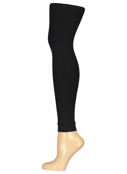 leggings 200 denier black black - 1000001138 - hema