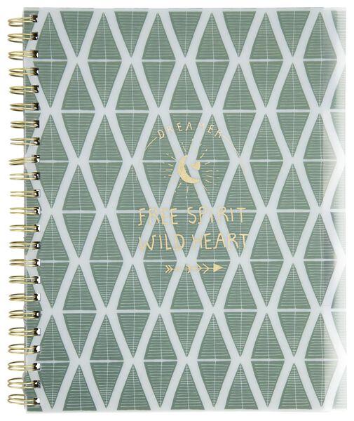 cahier à spirale 4-en-1 A4 ligné - 14590264 - HEMA