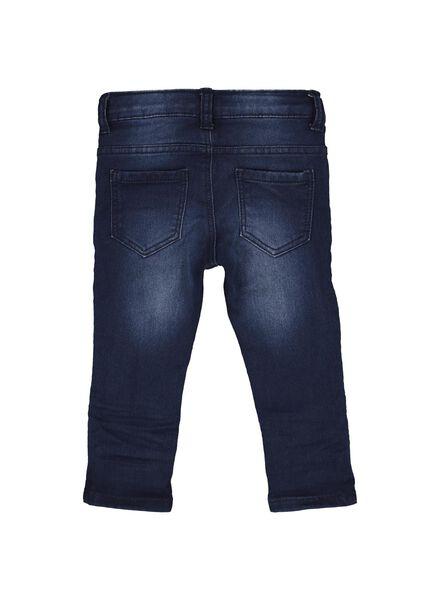 baby jog denim trousers dark blue dark blue - 1000014360 - hema