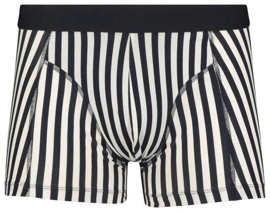 men's boxers short cotton stretch dark blue dark blue - 1000018803 - hema