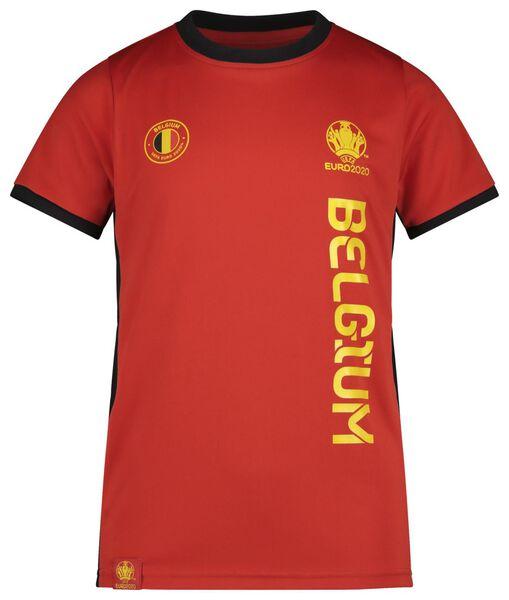 Fußball-EM-Kinder-T-Shirt rot - 1000019562 - HEMA