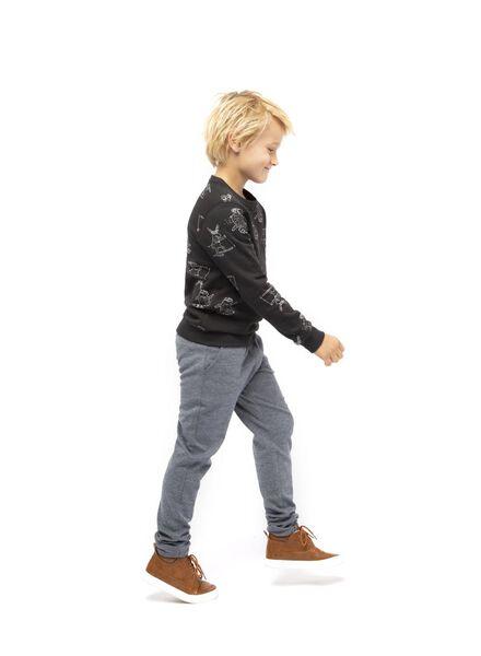 pantalon sweat enfant gris chiné gris chiné - 1000016842 - HEMA