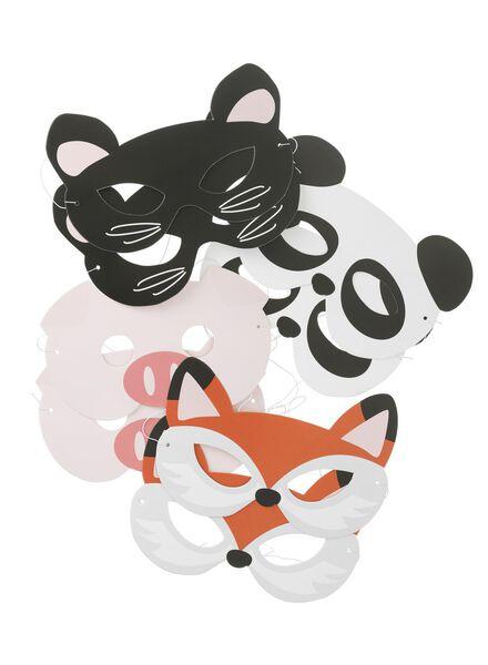 8 masques en papier - 14230096 - HEMA