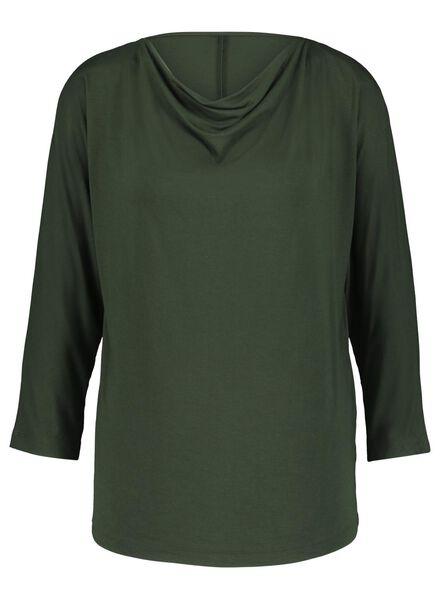 haut femme vert foncé vert foncé - 1000017076 - HEMA