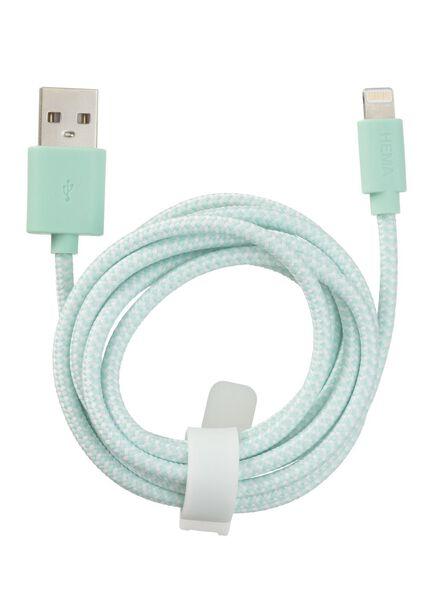 câble chargeur USB 8 broches - 39630047 - HEMA