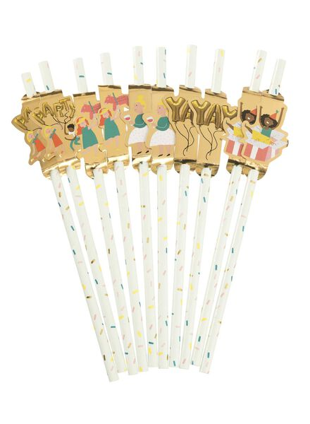 10-pack straws - 60800400 - hema