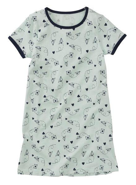 2-pack children's nightshirts mint green mint green - 1000006646 - hema