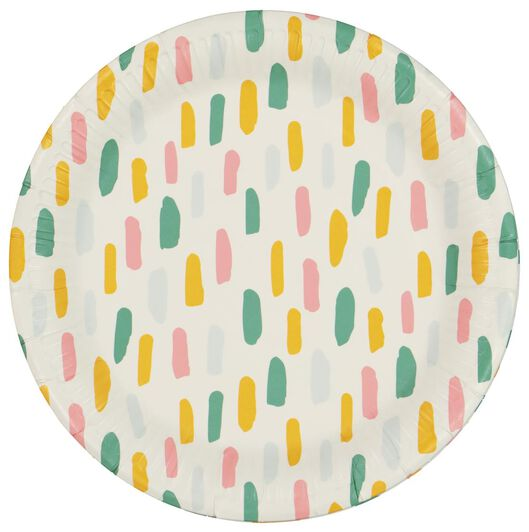 8 paper plates Ø 22.5 cm - 14210102 - hema