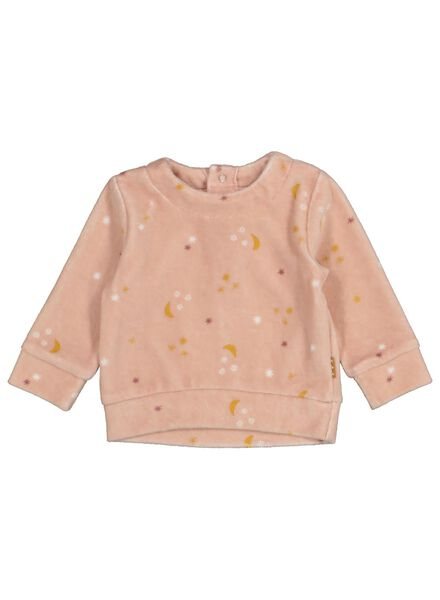 sweat nouveau-né rose rose - 1000016888 - HEMA