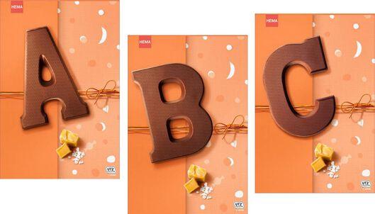 chocolate letters - 135 grams caramel sea salt caramel sea salt - 1000021582 - hema