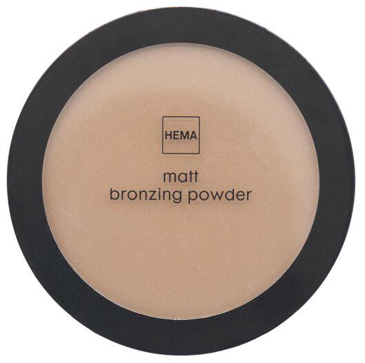 mattifying bronzing powder 01 honey - 11290181 - hema