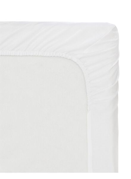 soft cotton fitted sheet 90 x 200 cm - 5160194 - hema