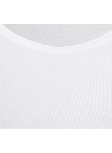 Damen-Hemd, Real Lasting Cotton weiß weiß - 1000001947 - HEMA