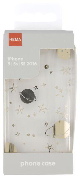 Softcase für iPhone 5/5S/SE2016, Galaxie - 39680101 - HEMA