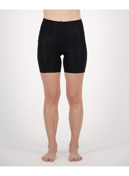 women's bike shorts real lasting cotton black black - 1000019865 - hema