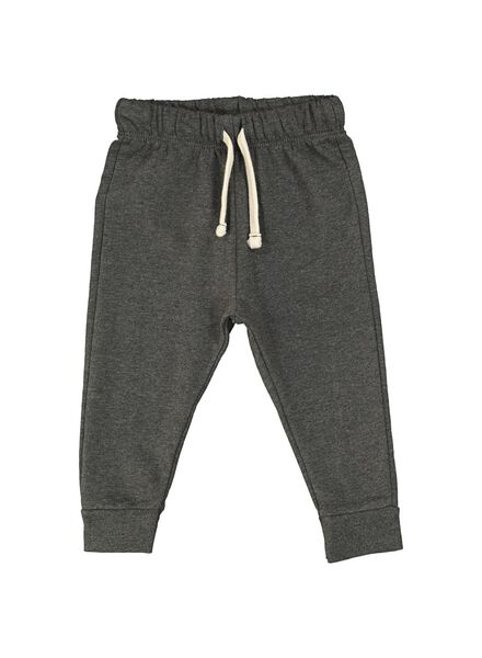 baby sweatpants dark grey dark grey - 1000014704 - hema