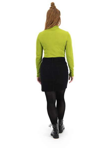 women's turtle-neck sweater olive olive - 1000015675 - hema