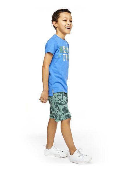 Kinder-Shorts, Comfy Fit grün grün - 1000018947 - HEMA