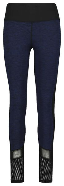 women's sports leggings blue blue - 1000018823 - hema