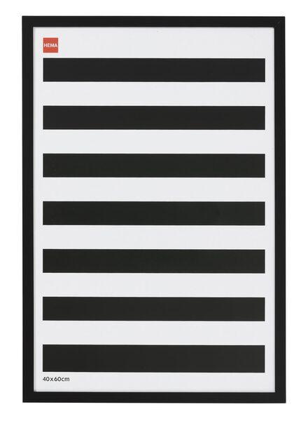 cadre photo 40 x 60 cm 40 x 60 noir - 13680029 - HEMA