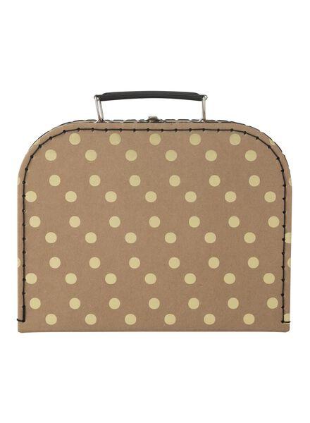 koffer karton - 19,5 x 23,6 x 9,5 cm - 60200431 - HEMA